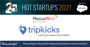 Tripkicks Phocuswright Hot 25